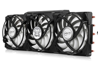 Arctic Cooling Accelero Xtreme 7970 VGA Cooler for AMD Radeon