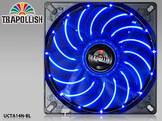 Enermax T.B.APOLLISH  UCTA14N-BL 140mm Blue LED Fan