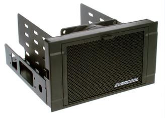 EverCool HD-AR-B Dual 5.25in Bay to Three 3.5in HDD Bay Converter