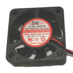 EverCool EC3010HH05B 30x10mm 5V EL bearing Fan, 2Pin