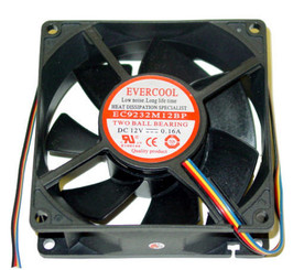Evercool EC9232M12BP 92X32mm PWM Case Fan, 4Pin