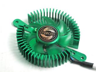 EverCool VC-RI-G Mini UFO Universal VGA Cooler, Green