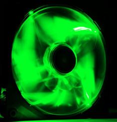 NZXT  RF-FZ140-G1 Airflow 140mm Green LED Case Fan