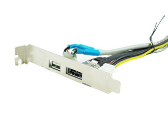 Okgear OK106-PCI eSATA/USB2.0 2in1 PCI Bracket
