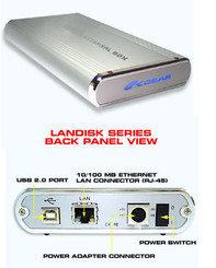 Okgear LAN-SI SATA LAN DISK Silver