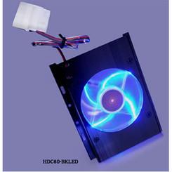 Scythe HDC80-BKLED 3.5inch HDD Cooler w/ LED