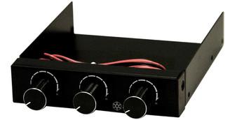 Silverstone FP33B 3channel Fan Controller, Black