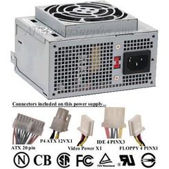 SPI FSP180-50NIV 180W SFX 20PIN 80mm Fan Power Supply