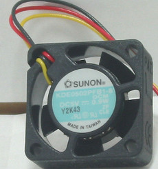 SUNON KDE0502PFB1-8 25X25X10 MM BARE WIRE FAN
