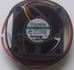 Sunon KDE1204PKVX 40x40x20 mm MagLev Fan, 3Pin