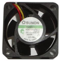 Sunon  40x40x20 mm Ball Bearing 3 pin Fan KDE1204PKV1