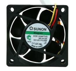 Sunon KDE1206PTV2 60x25mm MagLev Fan, 3pin