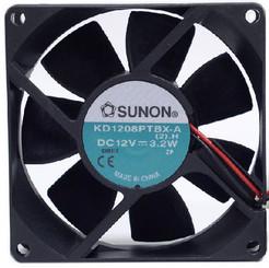 Sunon 80mm Ultra High Speed Case fan 3PIN KD1208PTBX-6