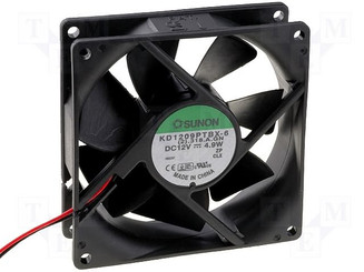 Sunon KD1209PTBX-6A 92x92x25mm Case Fan, 3Pin