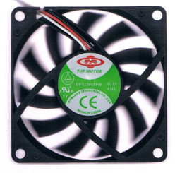 Top Motor DF127015PH 70x70x15mm Ball Bearing Fan, 3Pin