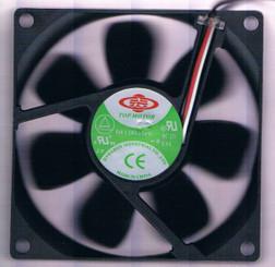 Top Motor DF128025PU-PWMG 80x80x25mm Hi Speed PWM Fan, 4Pin PWM