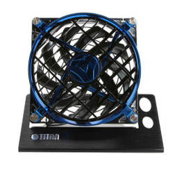 TITAN TTC-NF01TZ/BB Speed Control USB Fan (Blue)
