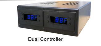 Programmable Thermal Control w/ Dual LED Display & 120V to 12V Power Adapter