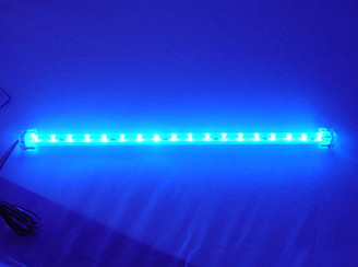 Logisys 12inch 18 BLUE LED Super Bright Sunlight Stick (BLUE)
