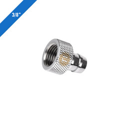 Thermaltake CL-W037-CU00SL-A Pacific 3/8inch (9.25 mm) Fill-port – Chrome