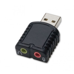 SYBA SD-AUD20066  Stereo Sound USB2.0 External Adapter Dongle