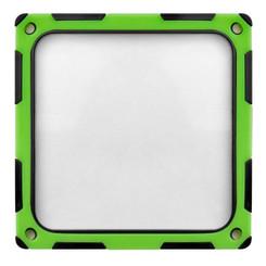 Silverstone SST-FF124BV-E (Black/Green) 120mm ABS Silicon Magnet Fan Filter