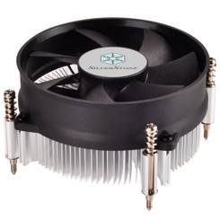 Silverstone SST-NT09-115X Intel Socket LGA1156/1155/1150/1151 Slim Low Profile CPU Cooler