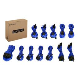 Thermaltake AC-032-CN5NAN-PB Individually Sleeved Cable Kit – Blue