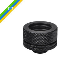 Thermaltake CL-W092-CA00BL-A Pacific G1/4 PETG Tube 16mm (5/8inch) OD Compression – Black