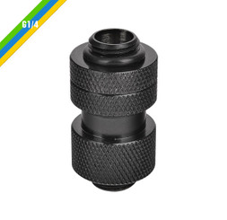 Thermaltake   CL-W068-CU00BL-A Pacific G1/4 Adjustable Fitting (30-40mm) – Black