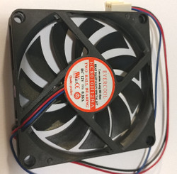 Evercool EC8010H12BA 80x80x10mm Double Ball Bearing Fan, 3Pin