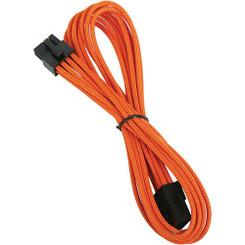Bitfenix BFA-MSC-8PEG45OK-RP Alchemy Multisleeved 45cm 8Pin PCI-E Male to 8Pin PCI-E Female Power Extension Cable (Orange)