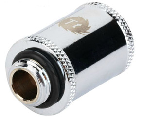 Thermaltake CL-W047-CU00SL-A Pacific G1/4 Female to Male 30mm Extender – chrome