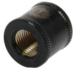 Thermaltake CL-W049-CU00BL-A Pacific G1/4 Female to Female 20mm Extender – Black