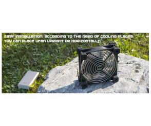 EverCool U-FAN-9 92mm USB Fan