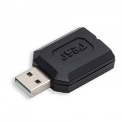 SYBA SD-CM-UAUD USB Stereo Audio Adapter RoHS Sound Dongle