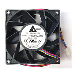 Delta PFR0912XHE-PWM 92 x 92 x 38mm PWM Fan, 4Pin PWM