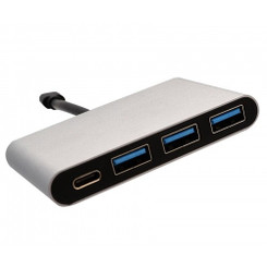 SYBA SD-HUB50099 USB 3.1 Type C with Power Delivery + USB 3.1 Gen 1 3 Port Hub