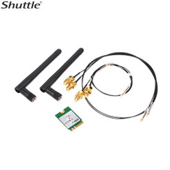 Shuttle  WLN-M Universal WLAN-ac/ Bluetooth Combo Kit with M.2 Card