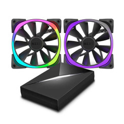 NZXT RF-AR140-C1 140mm Bundle Pack Aer RGB Fans with HUE+ Controller