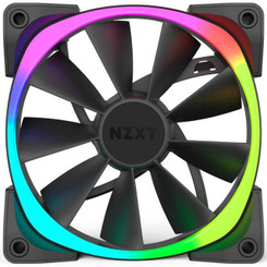 NZXT RF-AR140-T1 Aer RGB140 Triple Pack 140mm Digitally Controlled RGB LED Fans for HUE+