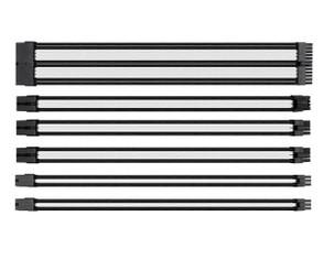 Thermaltake AC-048-CN1NAN-A1 TtMod Sleeve Cable Set – White/Black