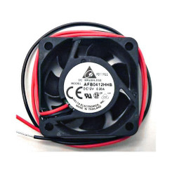 Delta AFB0412HHB  40 x 40 x 15mm 12V Duall Ball 2 Bare Wire Fan