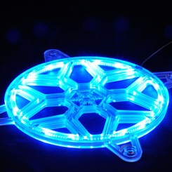 Silverstone SST-FG121  24 pcs RGB LED Strip Plastic 120mm Fan Grille
