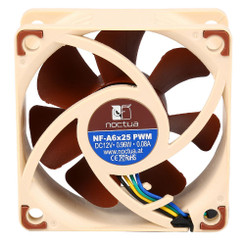 Noctua NF-A6x25 PWM 60x60x25mm A-Series Blade with AAO Frame SSO2 Bearing Fan