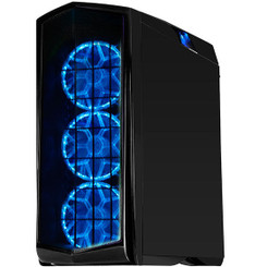 Silverstone SST-PM01C-RGB (matte black + RGB LED + window) 140MM RGB LED Fan ATX Case