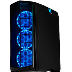 Silverstone SST-PM01B-RGB (black + RGB LED + window) 140MM RGB LED Fan ATX Case