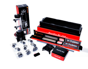 Thermaltake CL-W125-CA12RE-A PACIFIC RIPTIDE 420 Extreme – PETG Hard Tube Starter Kit