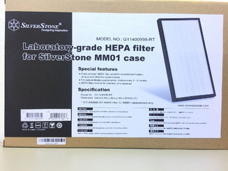 Silverstone G11400998-RT Laboratory-grade HEPA Filter for MM01 Case
