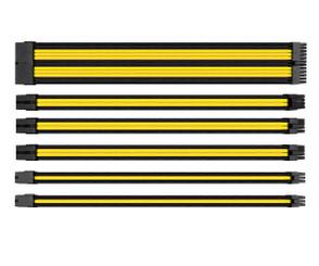 Thermaltake AC-047-CN1NAN-A1 TtMod Sleeve Cable Set – Yellow/Black